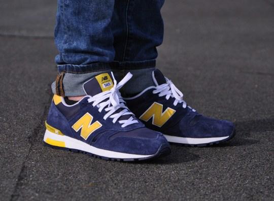 New Balance 565 – Navy – Yellow