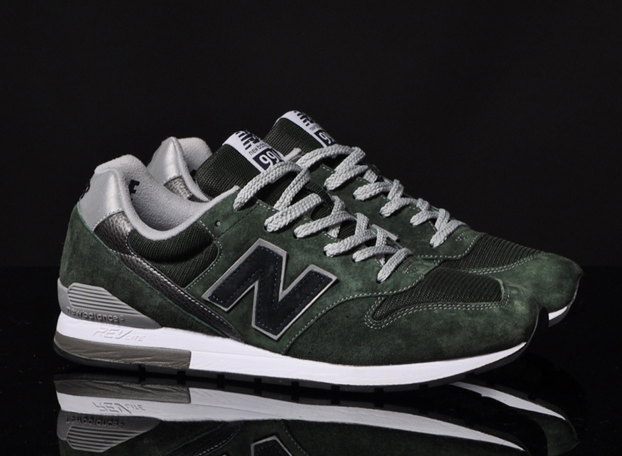 check out 71484 5683d New Balance 996 Revlite - Green - Black - SneakerNews.com