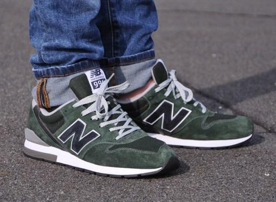 New Balance 996 Revlite – Green – Black
