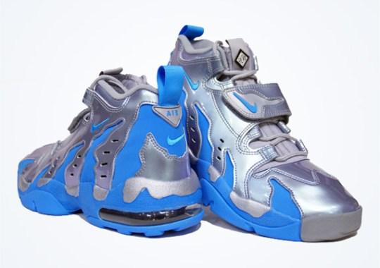 Nike Air DT Max '96 – Metallic Silver – Vivid Blue – Black