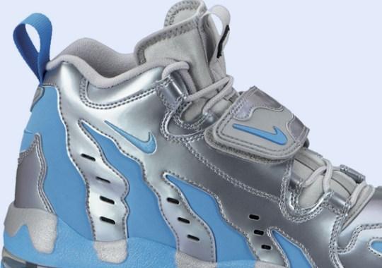 Nike Air DT Max '96 – Metallic Silver – Vivid Blue