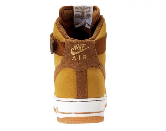 Nike Air Force 1 High Shale Light British Tan Gum