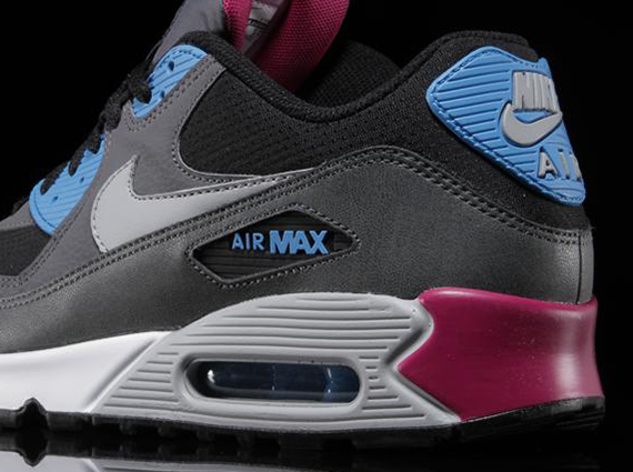 3a58959ed961 Nike Air Max 90 Essential - Black - Blue - Pink - SneakerNews.com