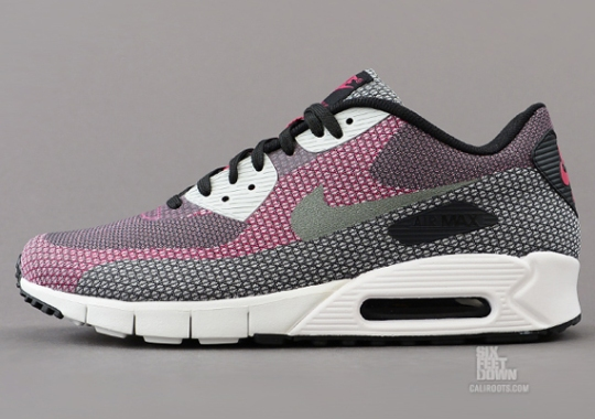 Nike Air Max 90 JCRD – Black – Medium Base Grey – Anthracite – Bright Mango