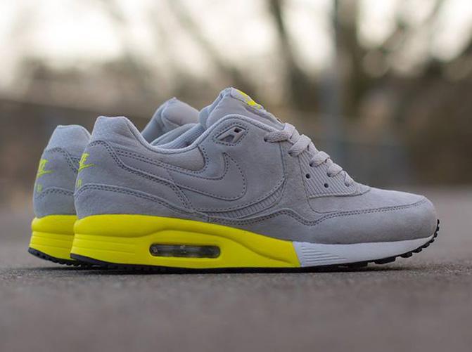 Nike Air Max Light Premium Grey White Yellow