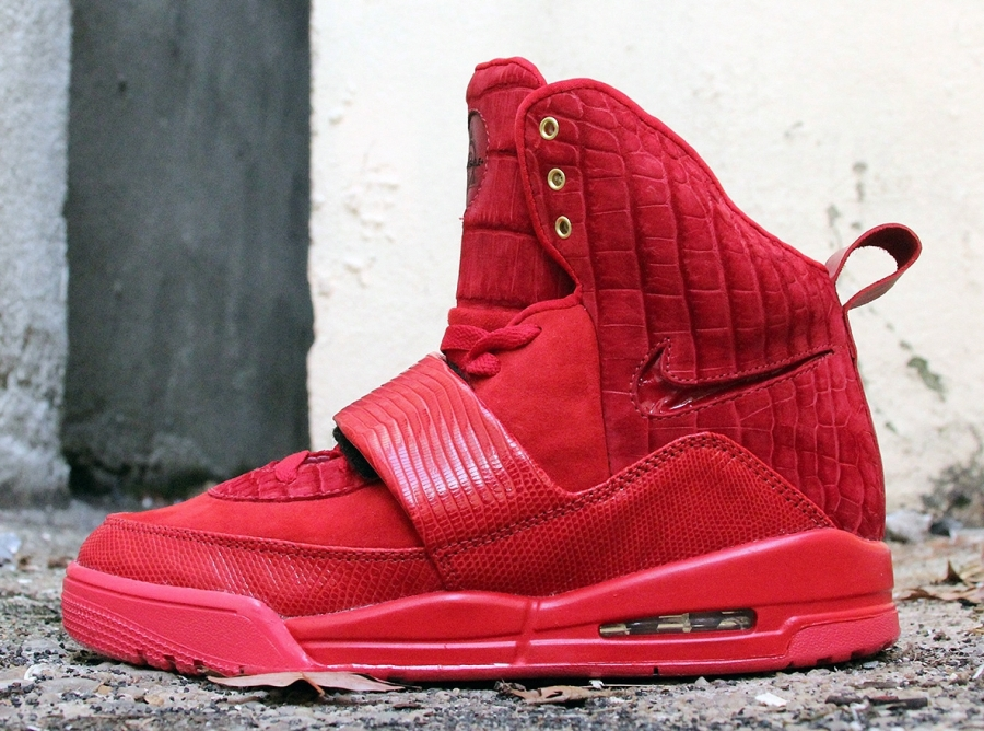 """Nike Air Yeezy 1 """"Incomparable"""" by JBF Customs 1ca922bd6"""