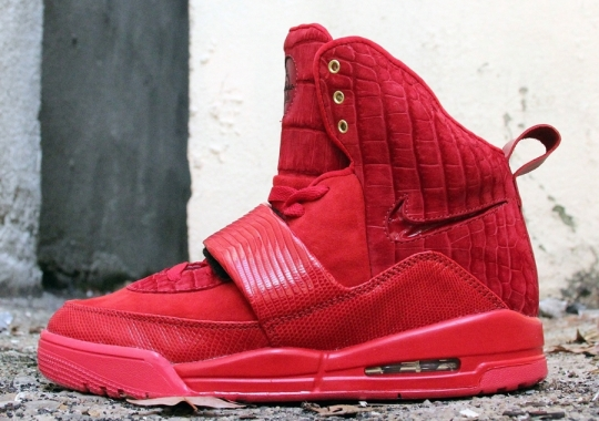 "Nike Air Yeezy 1 ""Incomparable"" by JBF Customs"