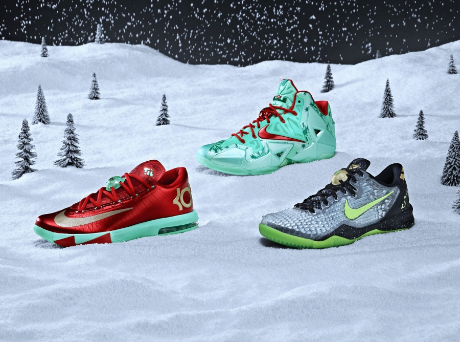 nike basketball 2013 quotchristmas packquot sneakernewscom