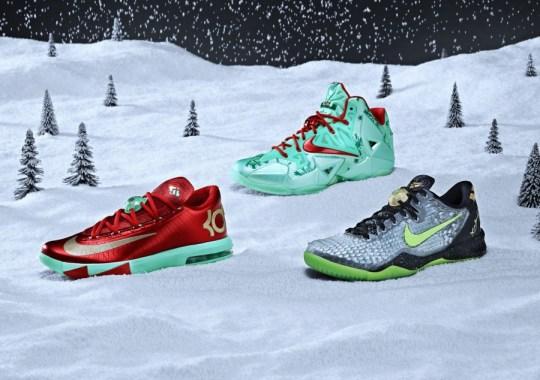 """Nike Basketball 2013 """"Christmas Pack"""""""
