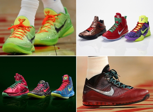Nike Basketball Signatures of Christmas Past