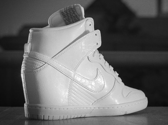 Nike Dunk Sky Hi - White - Cool Grey - SneakerNews.com ca3563a01dea