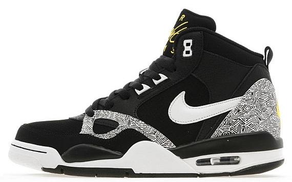 Nike Flight '13 Mid - Black - White