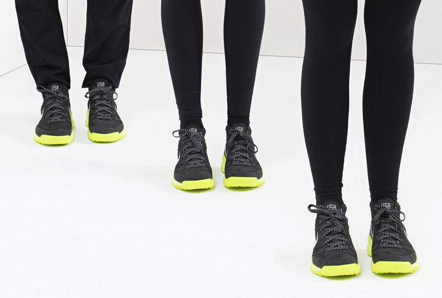 best service ce8ac 6aaac ... Flyknit Trainer Chukka FSB and then check out the rest of the gear on  the Nike Team USA Winter Collection site. Advertisement