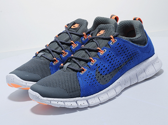 Nike Free Powerlines+ 2 – Dark Grey – Royal – Orange
