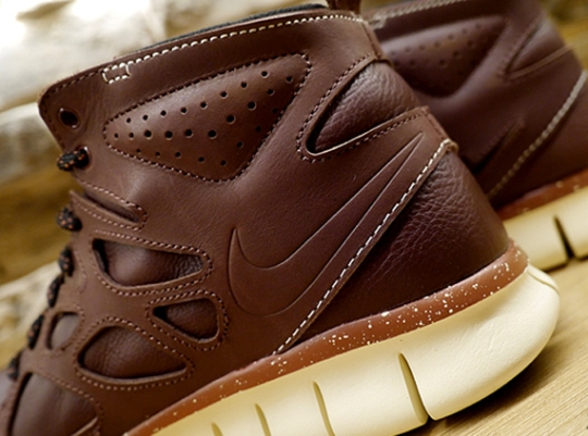 Nike Free Run 2 Sneakerboot Leather