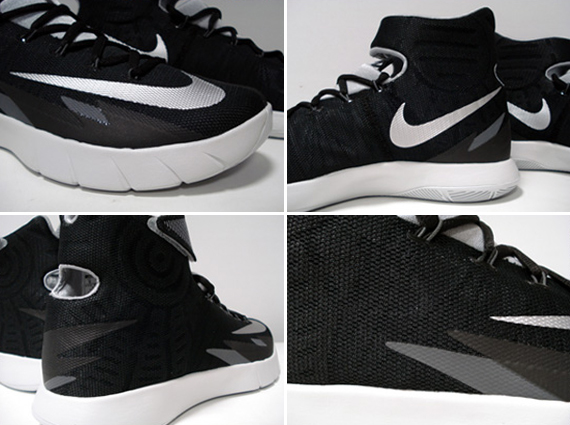 quality design 5f9f1 b135c Nike Hyperrev - Black - Grey - Silver - SneakerNews.com