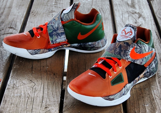 "Nike Zoom KD 4 ""Real Tree Camo"" Customs by Gourmet Kickz"