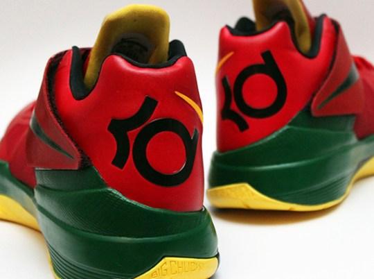 """Nike KD 4 """"Velvet Hoops"""" by Dank Customs"""