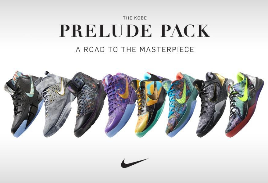54199fe9975 Nike Kobe Prelude Pack  A Road to the Masterpiece