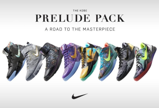 Nike Kobe Prelude Pack: A Road to the Masterpiece