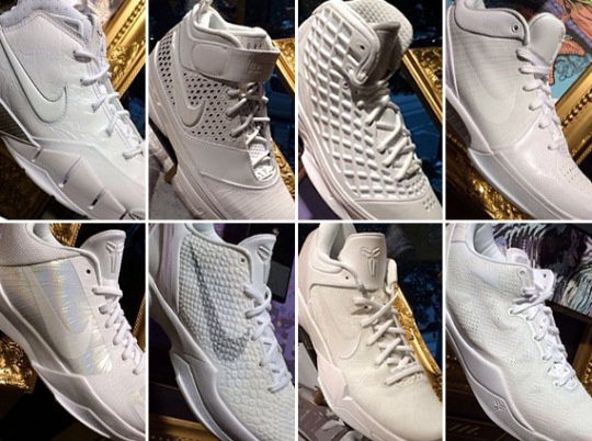 "Nike Kobe ""White Collection"""