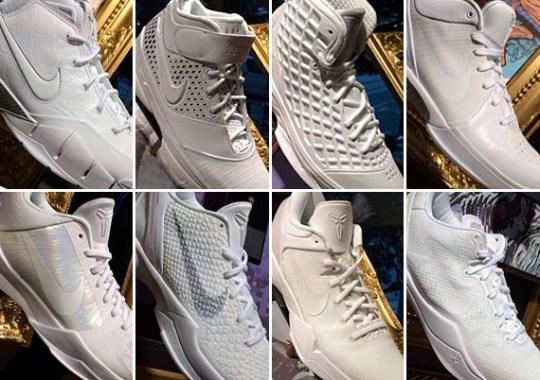 """Nike Kobe """"White Collection"""""""