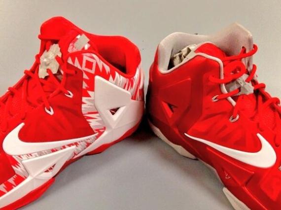 Nike LeBron 11 Ohio State Buckeyes PEs