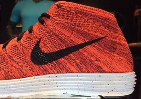 Nike Lunar Flyknit Chukka – Red – Black – Speckle