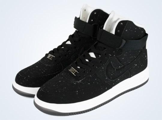 "Nike Lunar Force 1 High ""Speckle"" – Black – White"