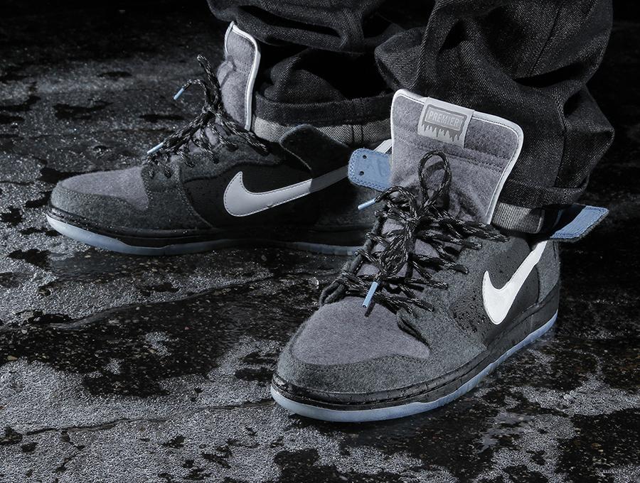 "wholesale dealer 308ae 3717f Premier x Nike SB Dunk High ""Petoskey"" – Release Date"