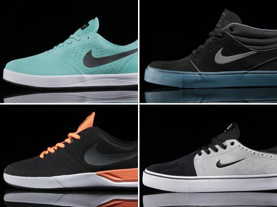 Nike SB January 2014 Releases