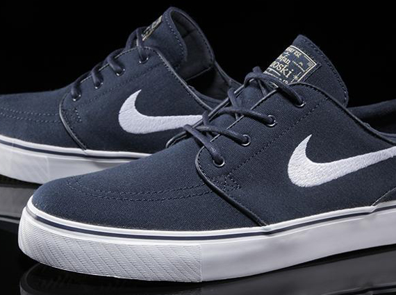 Nike SB Zoom Stefan Janoski Canvas - Obsidian - White - SneakerNews.com be461d757020
