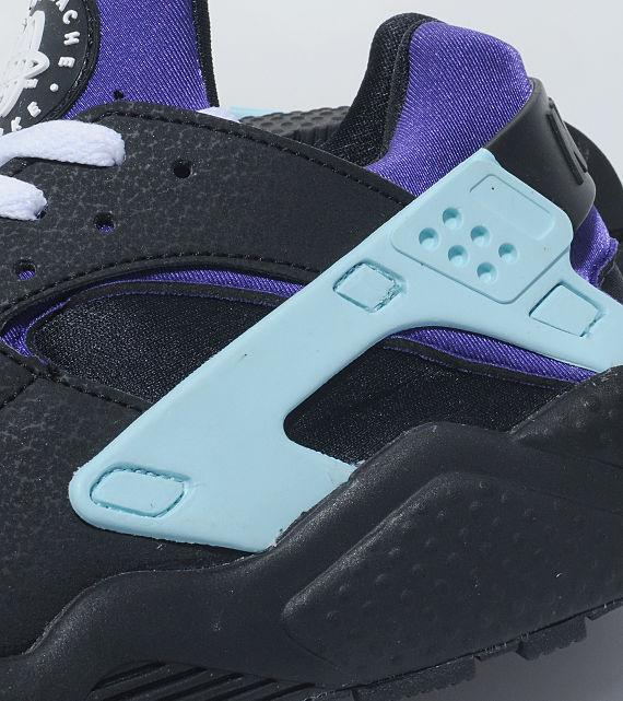 Nike Air Wmns Purple White Black Huarache gUfxqZwp