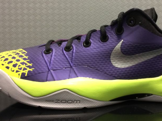 reputable site abb70 dfd56 Nike Zoom Kobe Venomenon 4 Purple Volt hot sale 2017