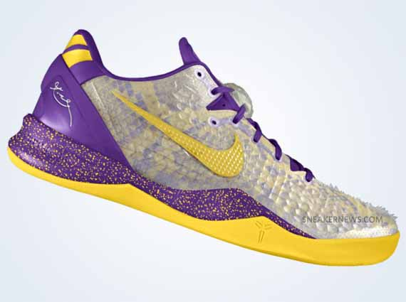 Nikeid Kobe 8 Shedding Skin Option Available