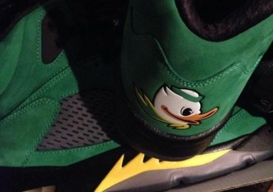 "Air Jordan 5 ""Oregon Ducks"" – Available on eBay"