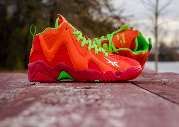 Packer Shoes x Reebok Kamikaze II x Mitchell & Ness 'Remember The