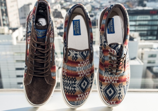 Pendleton x Vans Japan Fall/Winter 2013 Collection