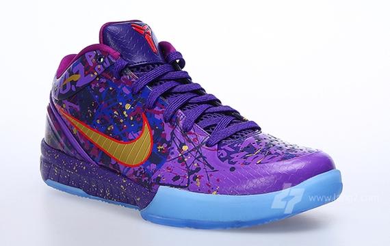 best cheap 4e537 6f08a Nike Zoom Kobe 4 Prelude Color  Court Purple Metallic Gold-Purple Venom  Style Code  639693-500. Release Date  12 28 13. Price   200