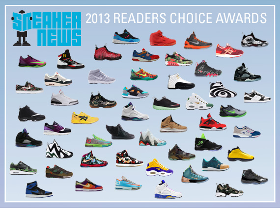 sn 2013 readers choice awards summary Sneaker News 2013 Readers Choice Awards