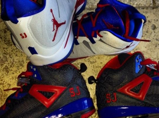 "Stephen Jackson Shows Off Jordan Brand ""Clippers"" PEs"