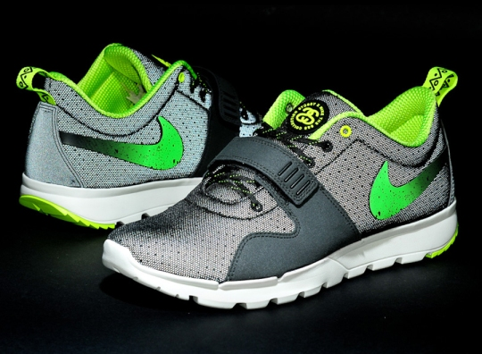Stussy x Nike SB Trainerendor – Black – Neon