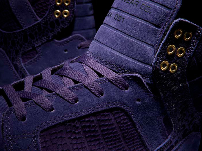 "c297de5366 Supra Skytop ""Royal"" – Purple Snakeskin"
