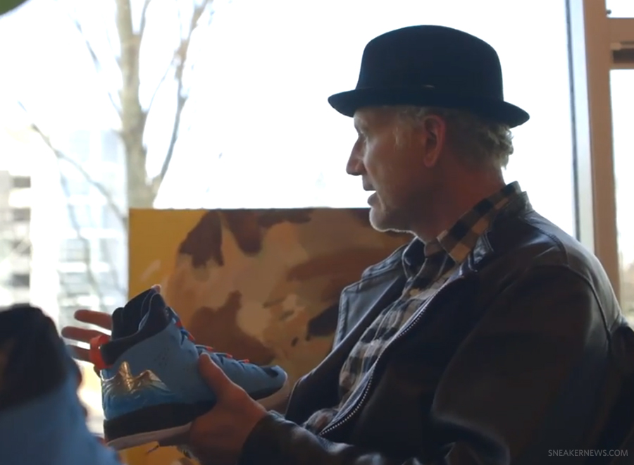Carmelo Anthony and Tinker Hatfield Discuss the Jordan Melo M10