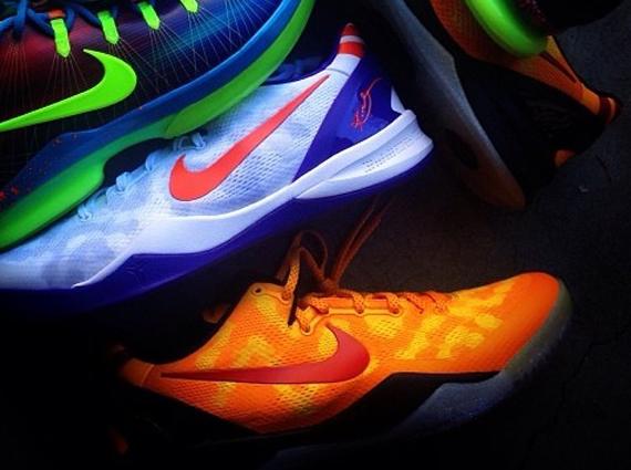 A Look at 2 Unreleased Nike Kobe 8 PEs