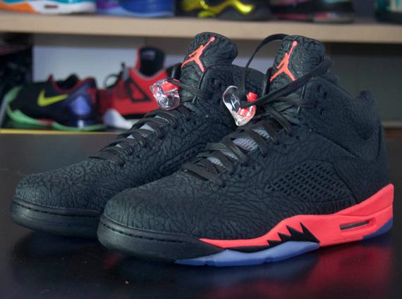 """The Air Jordan 3lab5 """"infrared"""