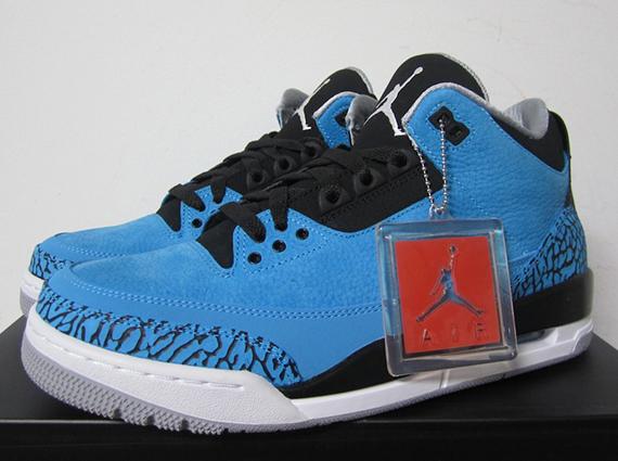 "premium selection 331a6 6bebf Air Jordan 3 ""Powder Blue"" – Release Reminder"