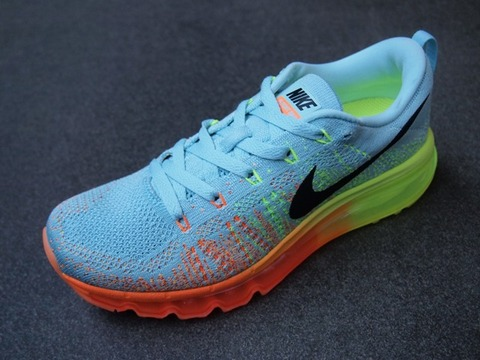 nike wmns flyknit air max glacier ice atomic orange rh sneakernews com