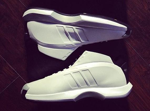 adidas crazy 1 white