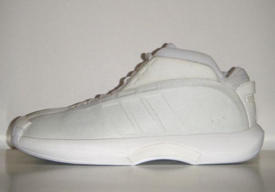 "adidas Crazy 1 ""Whiteout"" Sample"
